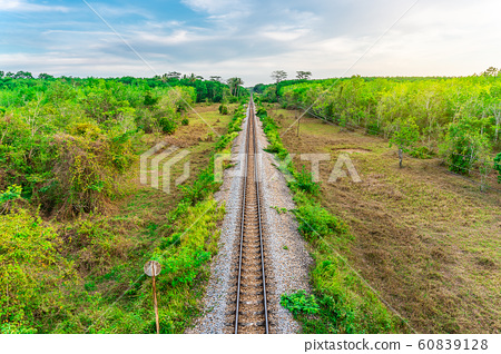 Railroad and railway train transportation with 60839128