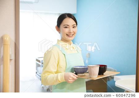商業工作婦女職業傭工護理日間服務 60847296