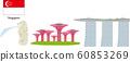 Landmarks in Singapore 60853269