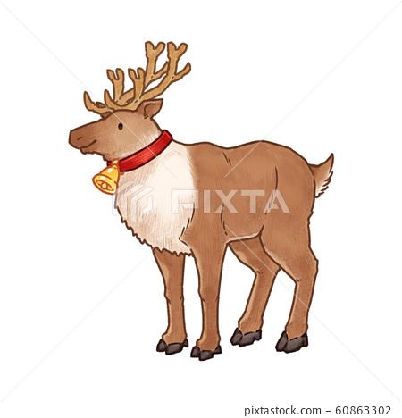 鈴鐺馴鹿(與藝術線條) 60863302