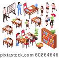 Isometric Junior School Set 60864646