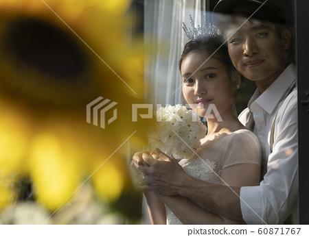 웨딩촬영 결혼 60871767