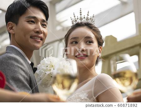 웨딩촬영 결혼 60871892