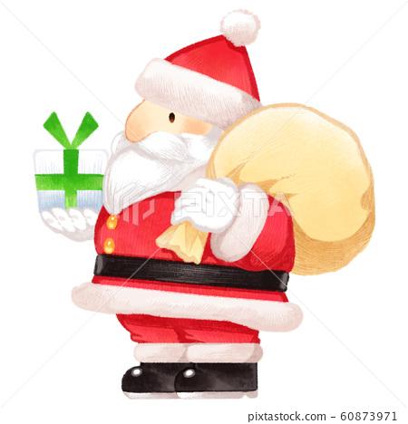迷你聖誕老人 60873971