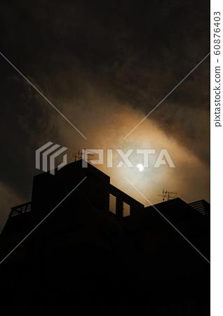 Partial eclipse,  Annular Solar Eclipse. Taipei, Taiwan 60876403