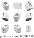Toaster 3D Rendering 60880130