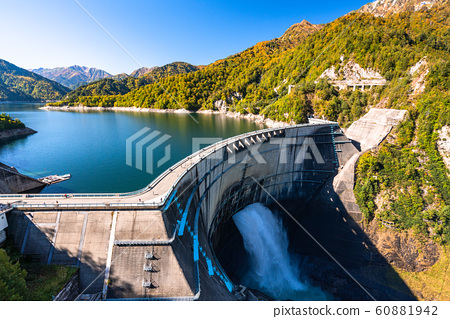 《Toyama Prefecture》 Autumn Kurobe Dam/Tateyama Kurobe Alpine Route 60881942