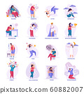 Mental Disorders Flat Icons 60882007