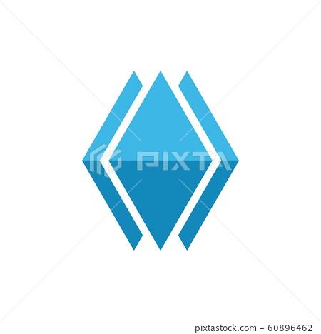 Ice Berg  icon Vector Illustration design Logo 60896462