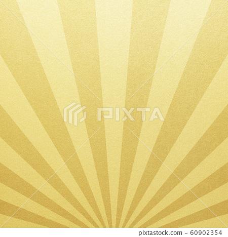 배경 - 일본 - 일본식 - 일본식 디자인 - 종이 - 금박 - 태양 60902354