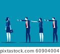 Business followers. Concept business marketing 60904004