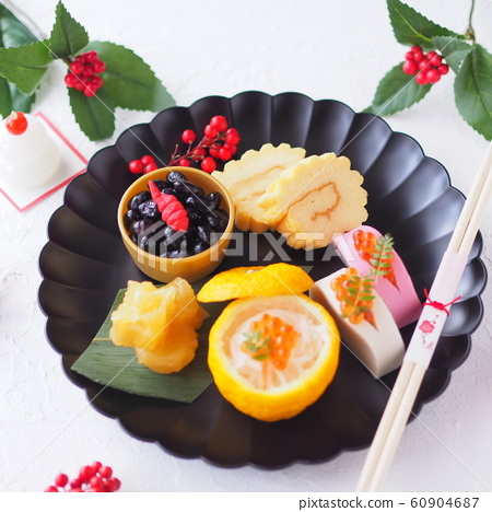 New Year Fashionable One Plate New Year dishes 60904687