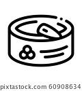 Caviar In Tin Icon Vector Outline Illustration 60908634