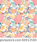 Italian terrazzo raster seamless pattern 60913584