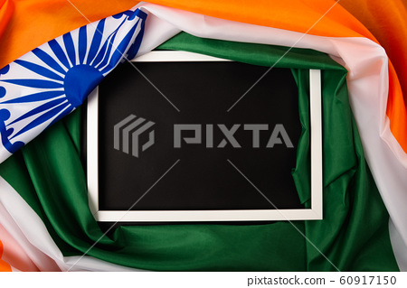 Indian republic day, flat lay top view, Indian 60917150