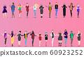 Different women. Various international females 60923252