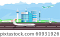 Airport vector illustration arrival departure 60931926