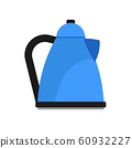 Electric kettle appliance illustration domestic 60932227