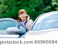 Woman car 60960094