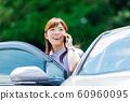Woman car 60960095