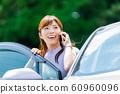 Woman car 60960096