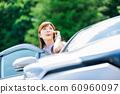 Woman car 60960097