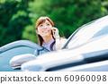 Woman car 60960098