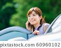 Woman car 60960102