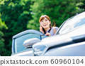 Woman car 60960104