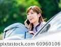 Woman car 60960106