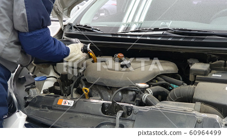 Car Inspection Engine Oil Replacement 60964499
