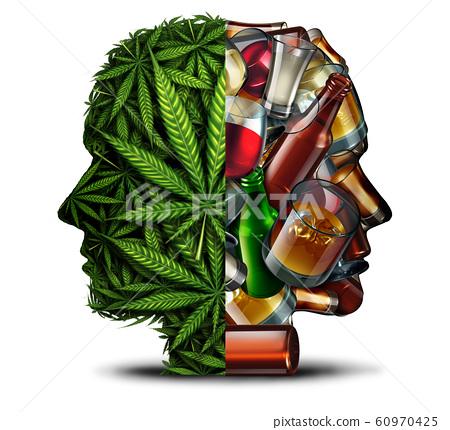 Marijuana And Alcohol 60970425