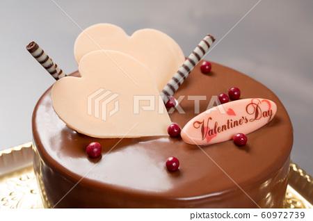 Valentine's Chocolate Cake 60972739