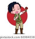 cute actor cartoon., job concept. 60984038