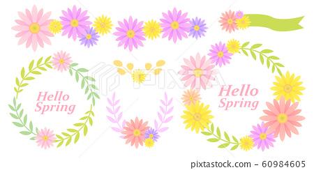 花卉裝飾 60984605