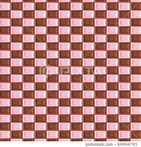 Valentine S Day Chocolate Background Wallpaper Stock Illustration 60994795 Pixta