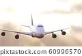 飛機太陽背景 60996570