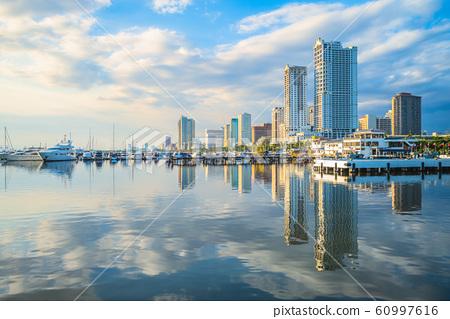 Port of Manila at manila bay, philippines 60997616