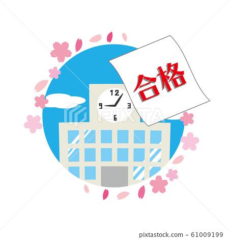 Notice of Passing Examination High School Exam College Exam Pass 61009199