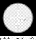Realistic illustration looking through sniper 61038453
