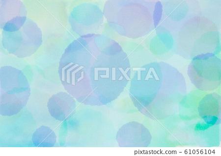 물방울 무늬 (수채화) 61056104