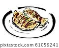 插圖素材,魷魚燒烤,魷魚燒烤,魷魚燒烤,手繪,魷魚燒烤,魷魚燒烤,毛筆書寫,手寫,麵粉,毛筆劃, 61059241