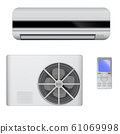 Air conditioner, domestic appliance 61069998