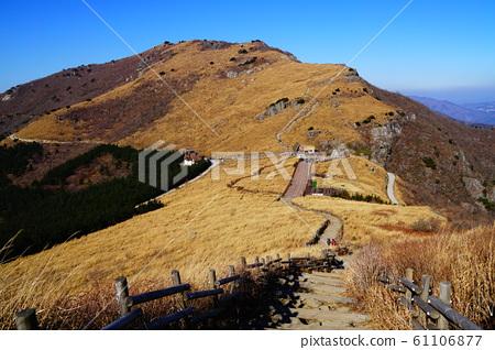 한국 울산 영남 알프스 신불 산 방면에서 간 갓산 방면 희망 61106877