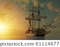 Spanish galleon 61114677