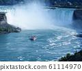 尼亚加拉瀑布尼亚加拉瀑布尼亚加拉瀑布,加拿大/美国 61114970