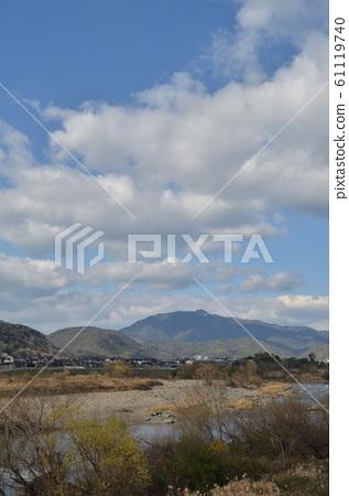 아라시야마 오구라 산 · 아타고 야마 원경 61119740