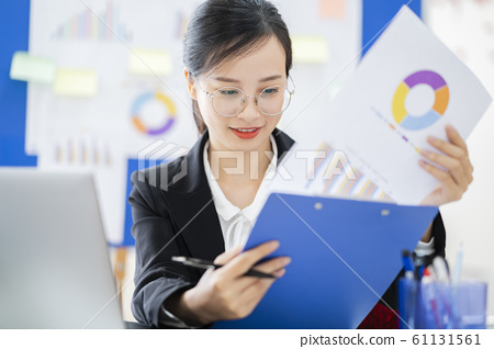 business woman, working, office 61131561