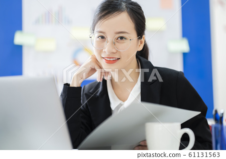 business woman, working, office 61131563