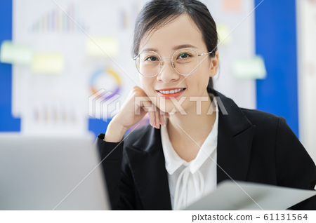 business woman, working, office 61131564